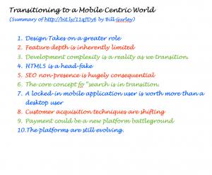 Transition to a Mobile Centric World - Bill Gurley